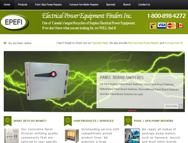 Electrical Power Equipment Finders Inc.